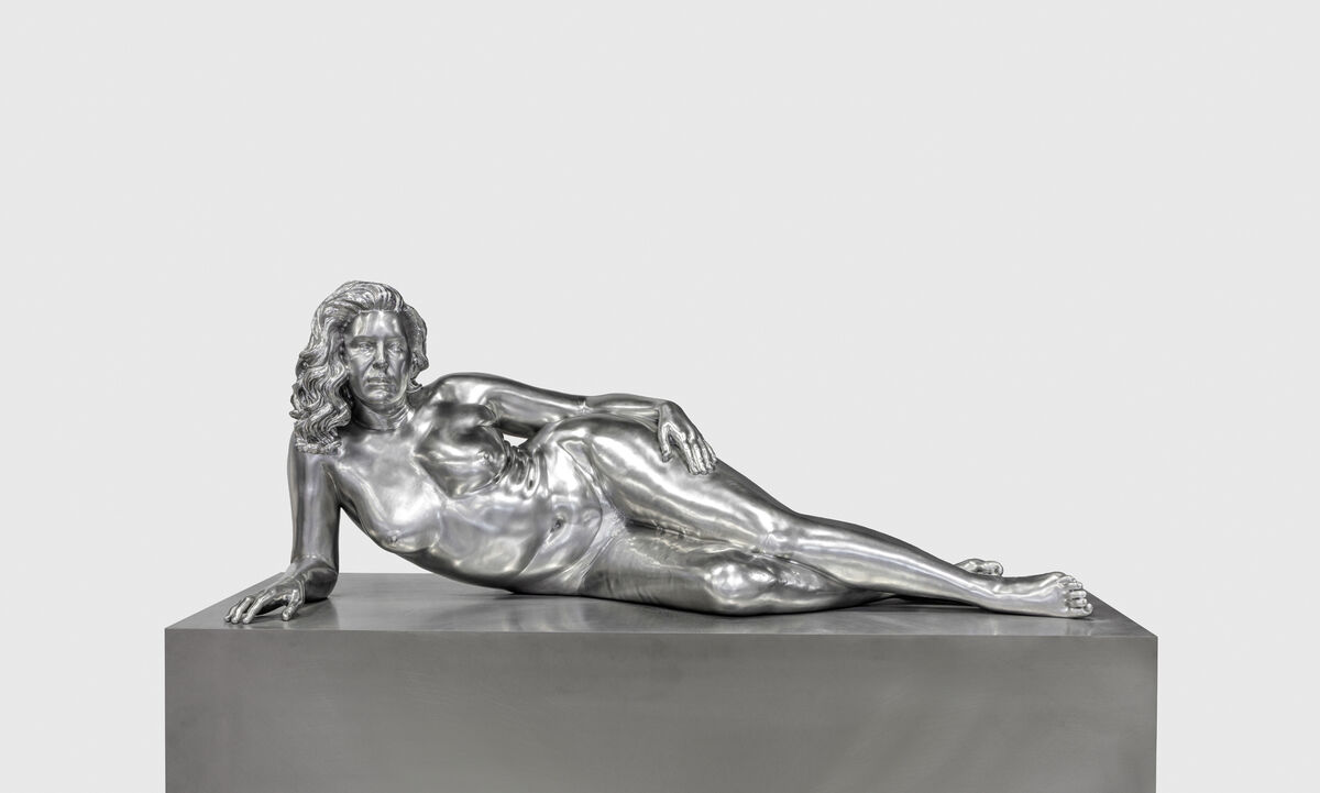Charles Ray, Reclining Woman, 2018. © Charles Ray. Courtesy of Matthew Marks Gallery.
