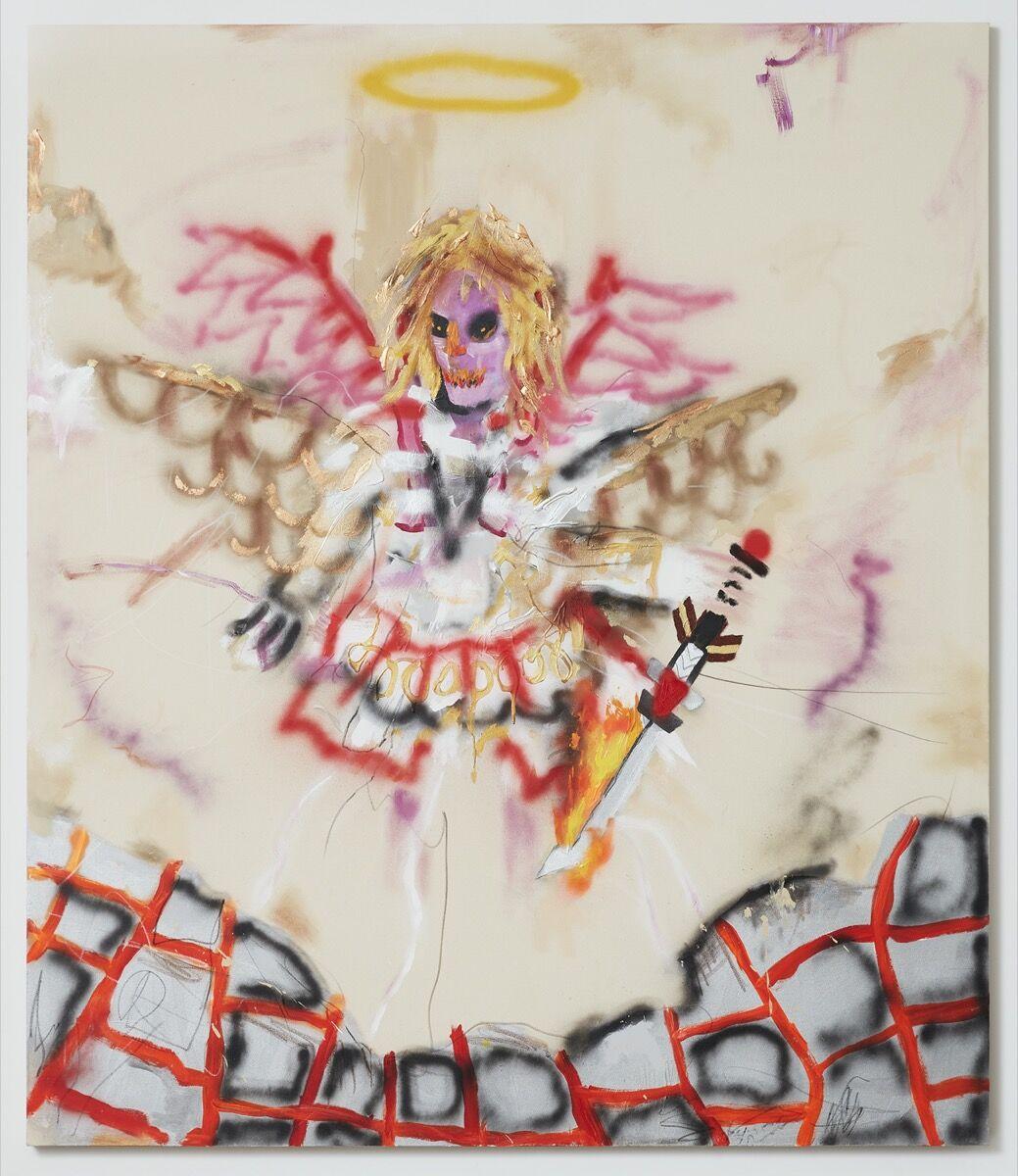 Robert Nava, Volcanic Angel, 2020. © Robert Nava. Courtesy of the artist and Vito Schnabel Gallery.