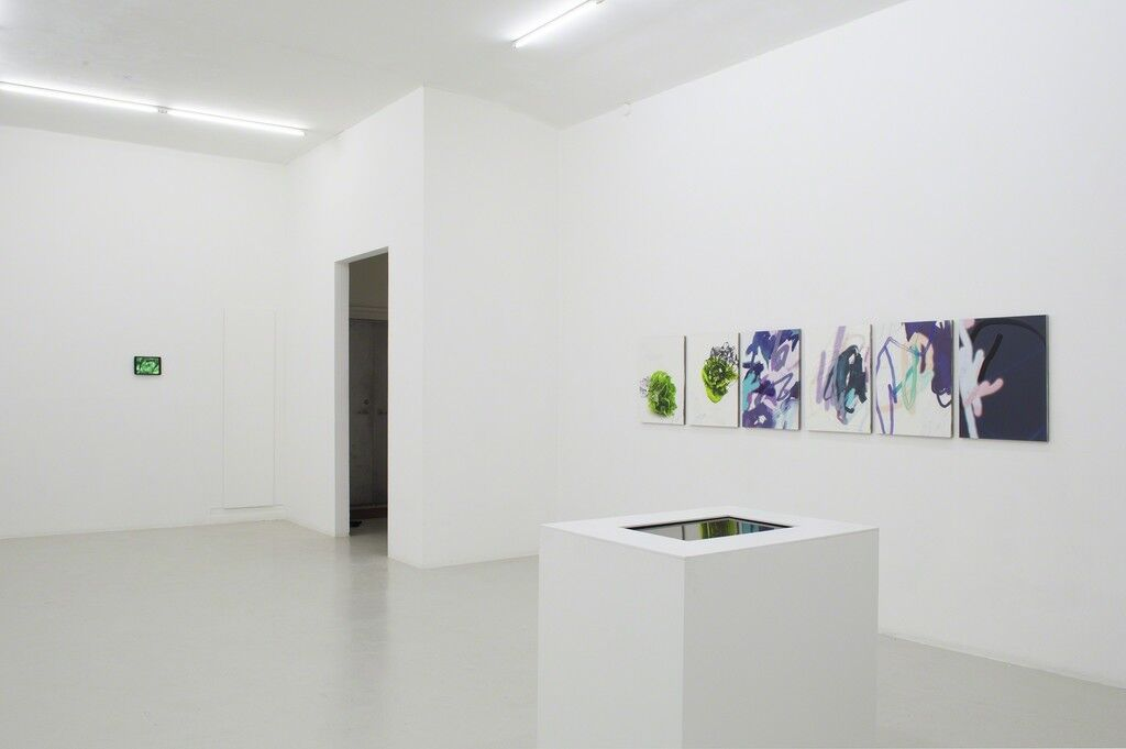 """Installation view,""""And Alterations-Michael Manning,""""Last Resort Gallery. Courtesy of Last Resort Gallery. Photo by Carl Holck."""