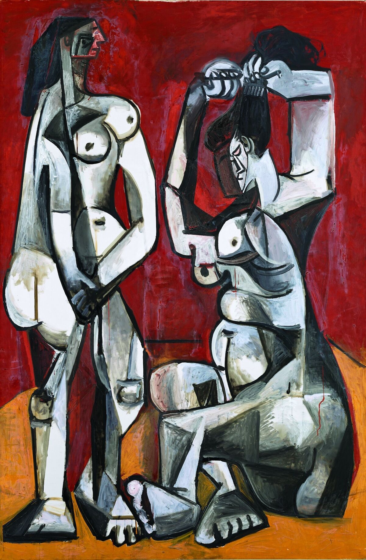 Pablo Picasso, Women at Their Toilette, 1956, oil on canvas. Courtesy and © Estate of Picasso / SODRAC (2018). Photo © RMN-Grand Palais / Art Resource, NY / Mathieu Rabeau.