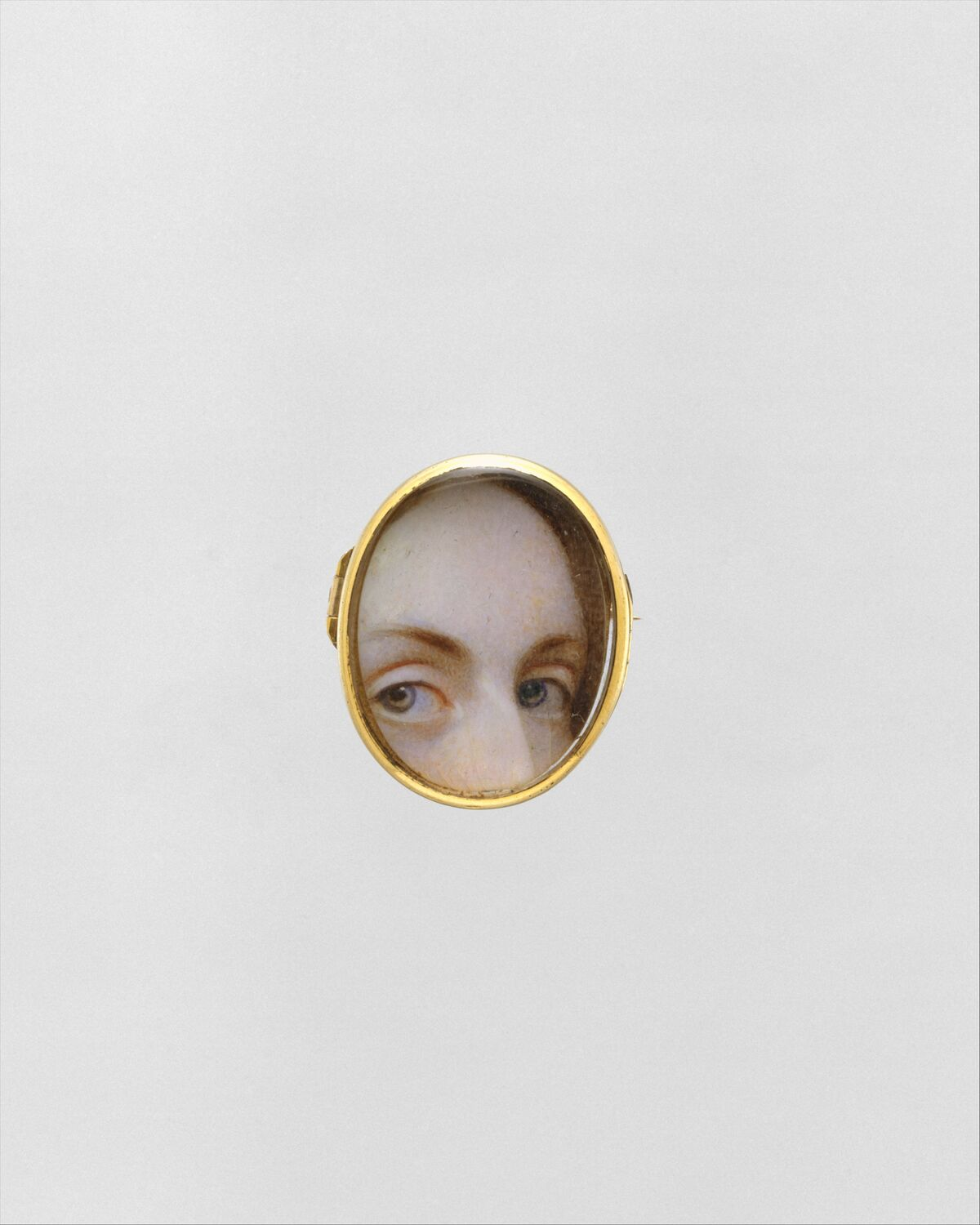 Lover's Eyes (front), ca. 1840. Courtesy of The Metropolitan Museum of Art.