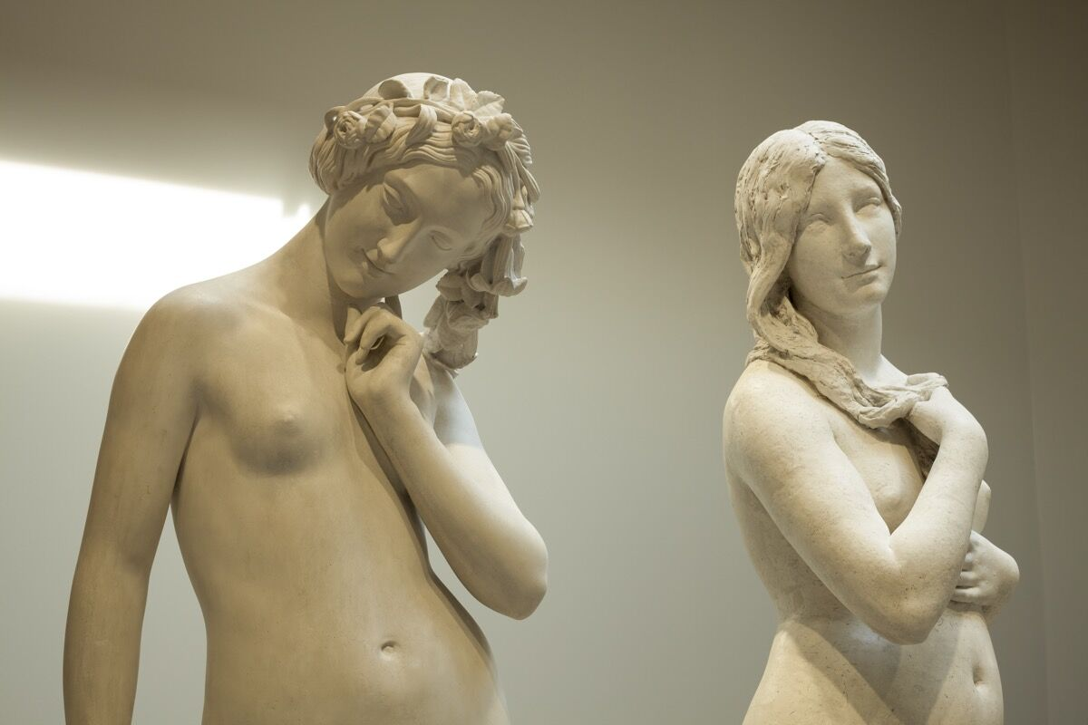 Installation view of Musée Camille Claudel. Photo by Marco Illuminati, courtesy of Musée Camille Claudel.