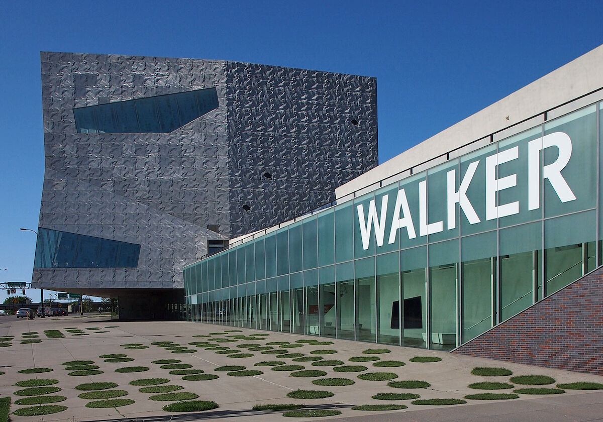 The Walker Art Center in Minneapolis. Photo by McGhiever, via Wikimedia Commons.