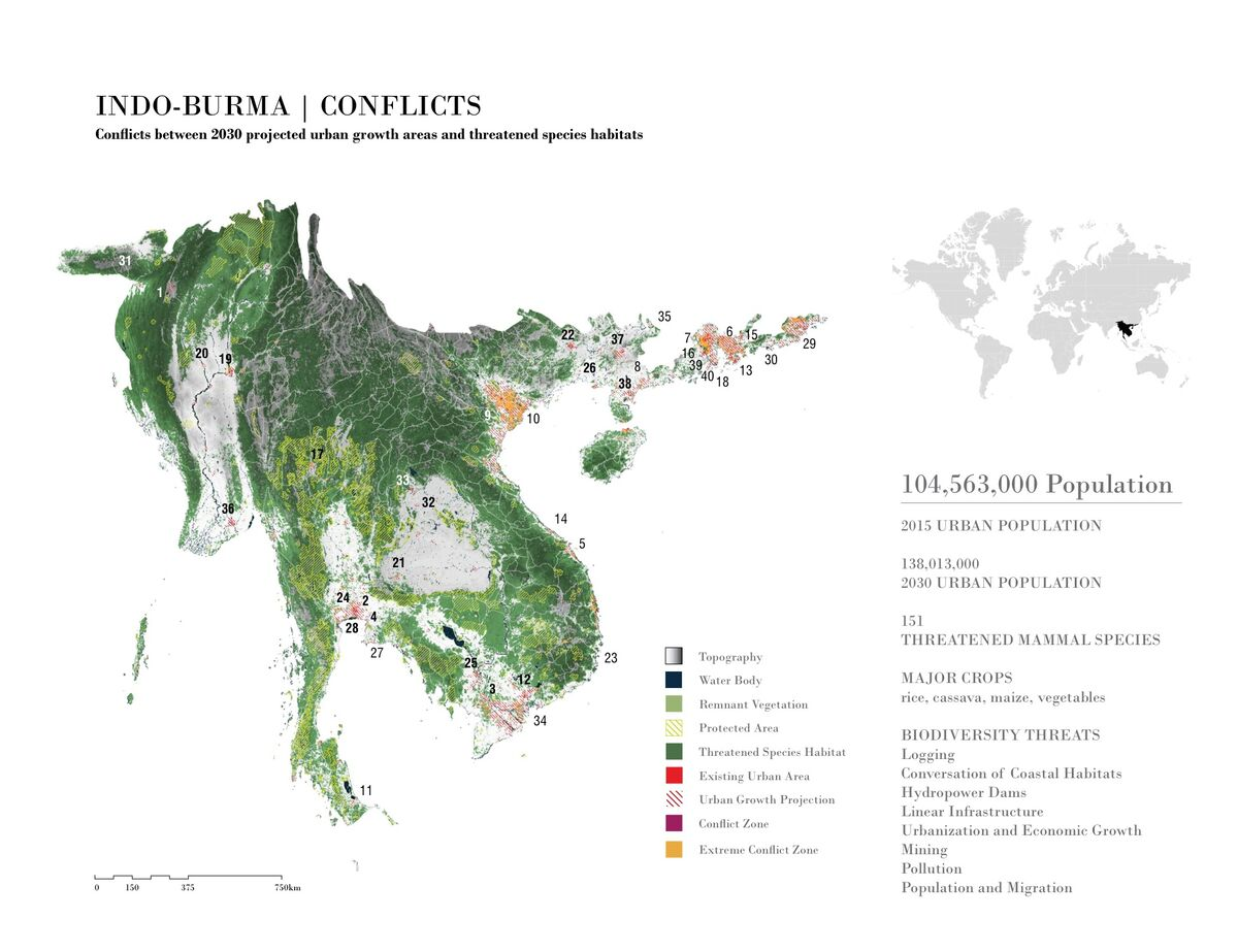 Indio-Burma Conflict Map. Image courtesy of the University of Pennsylvania.