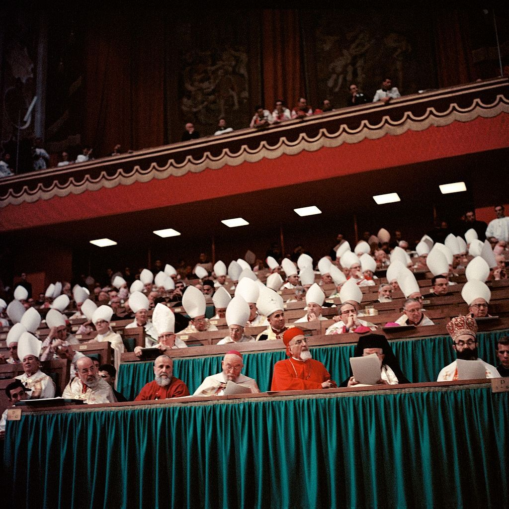 Second Vatican Council. Photo by Lothar Wolleh via Wikimedia Commons.