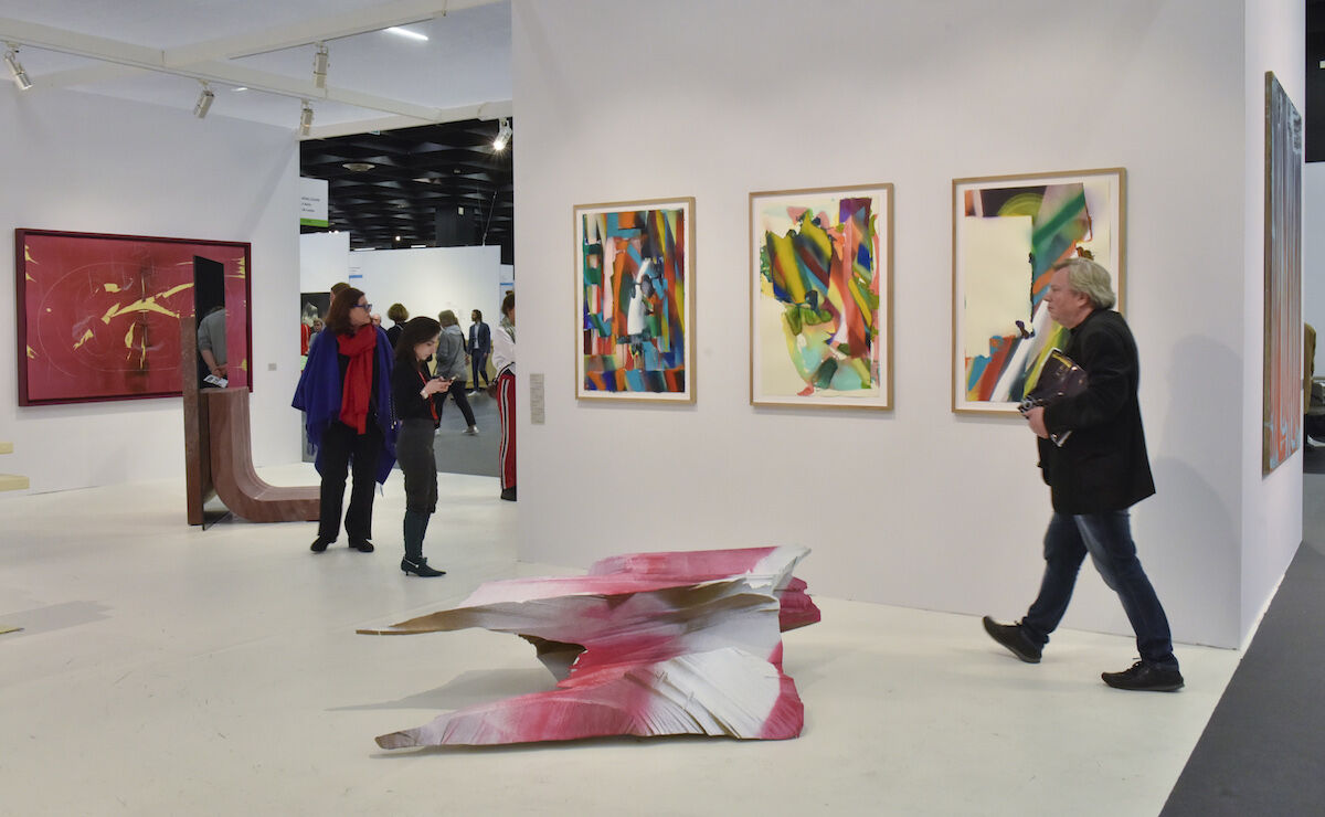 The König Galerie booth at the 2019 edition of Art Cologne. Courtesy Art Cologne.