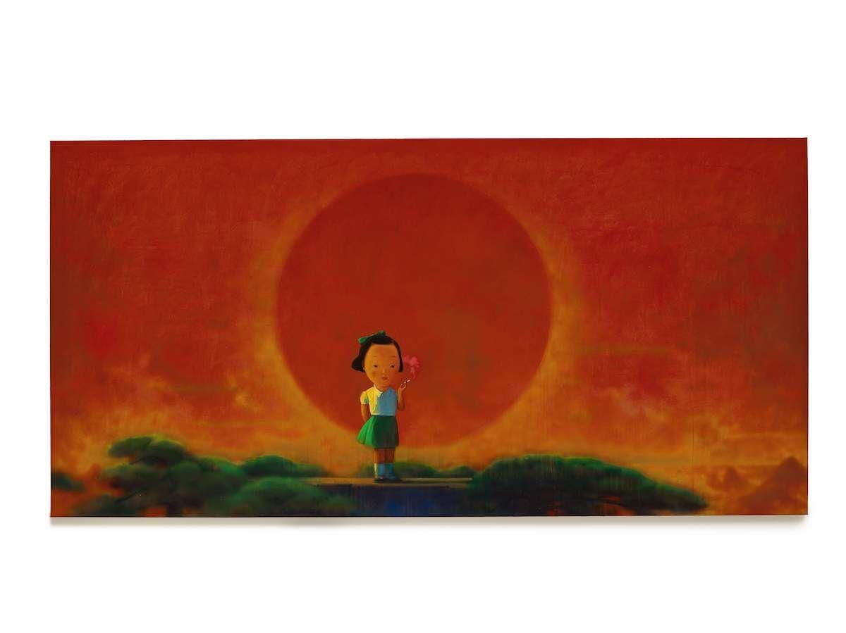 Liu Ye, Smoke, 2001–02. Courtesy Sotheby's