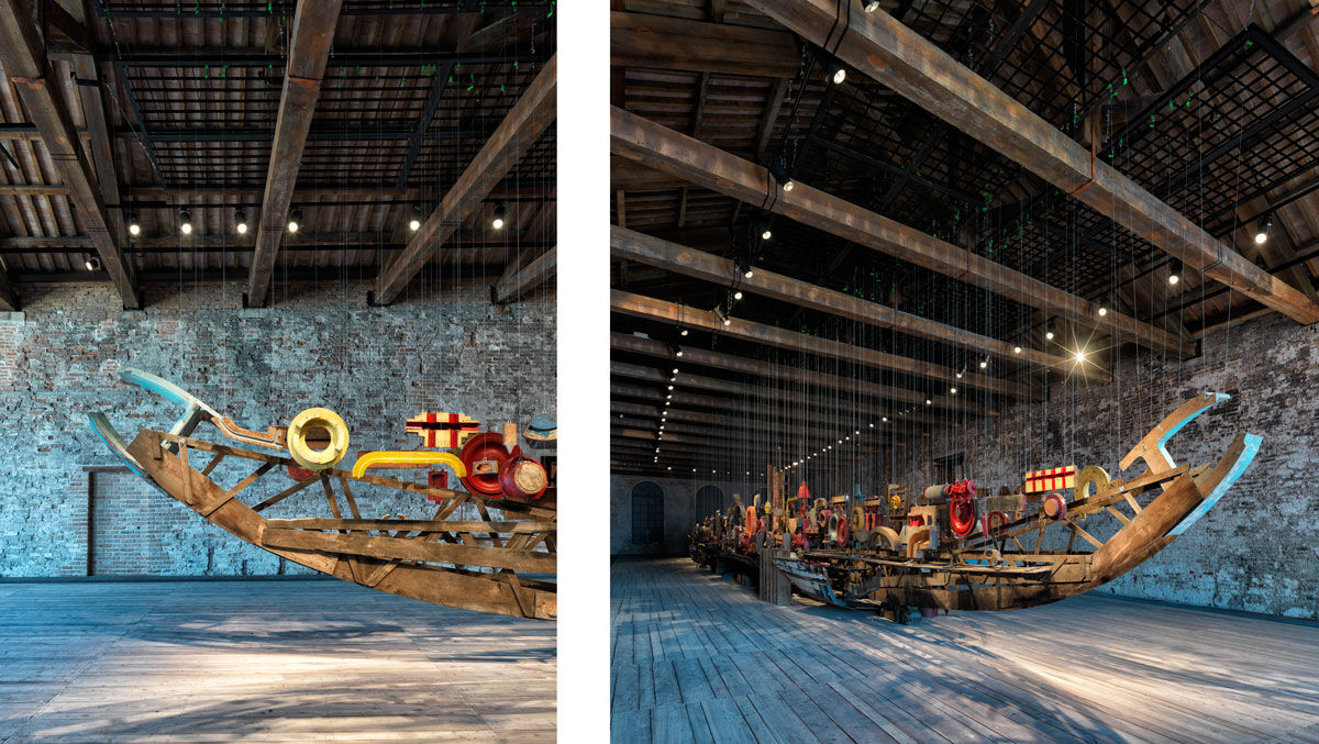 Installation view of the Turkey Pavilion at the 15th International Architecture Exhibition - La Biennale di Venezia 2016. Photos by Cemal Emden, courtesy of the Turkey Pavilion.