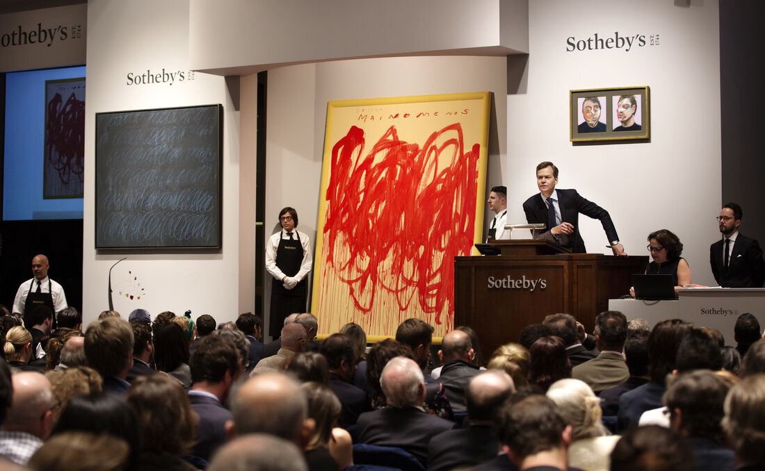 Public Auctions Near Me >> The Auction House Buzzwords New Collectors Need To Know Artsy