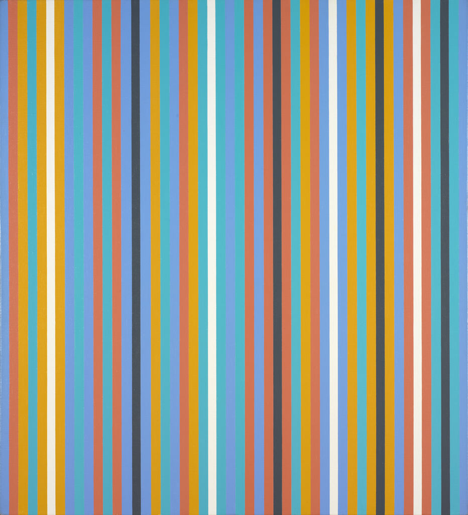 Bridget Riley. Gather, 1981. Bequest of Richard Brown Baker. Courtesy of the RISD Museum.