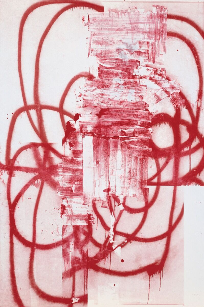 Christopher Wool, Untitled, 2001. © Christopher Wool. Courtesy of the artist and Luhring Augustine, New York.