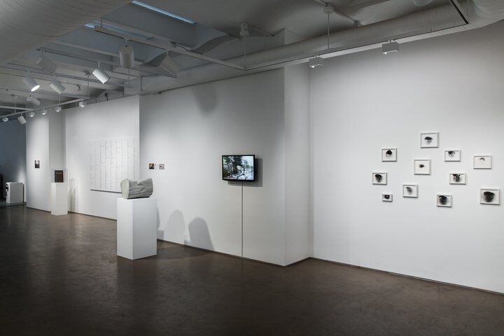 "Installation view of ""Records for Uncertain Times"" courtesy of Taymour Grahne."