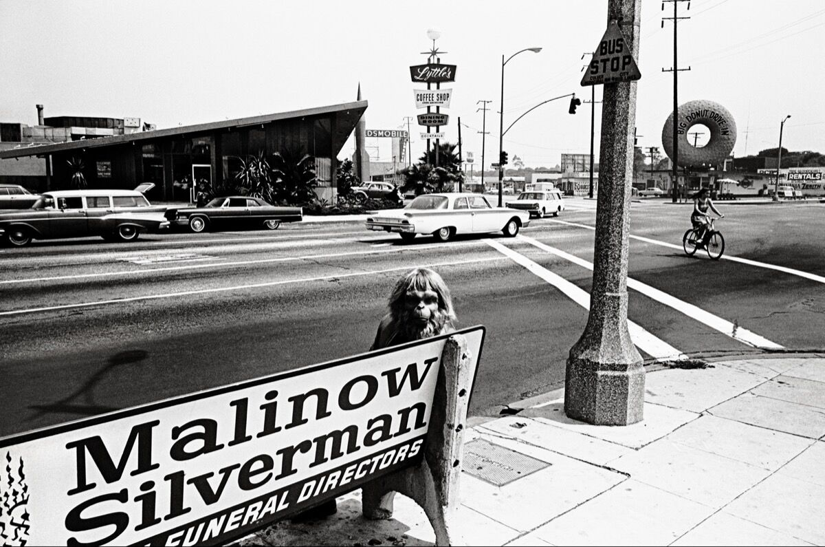 """Dennis Stock, Culver City,  from the series """"California Trip."""" Reissued by Anthology Editions. © Dennis Stock/Magnum Photos."""