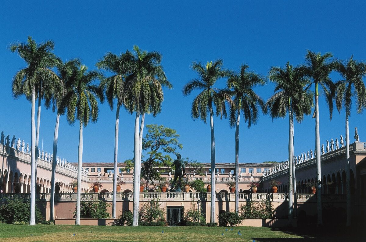 The John and Mable Ringling Museum of Art, Sarasota, FL. Photo by DeAgostini/Getty Images.