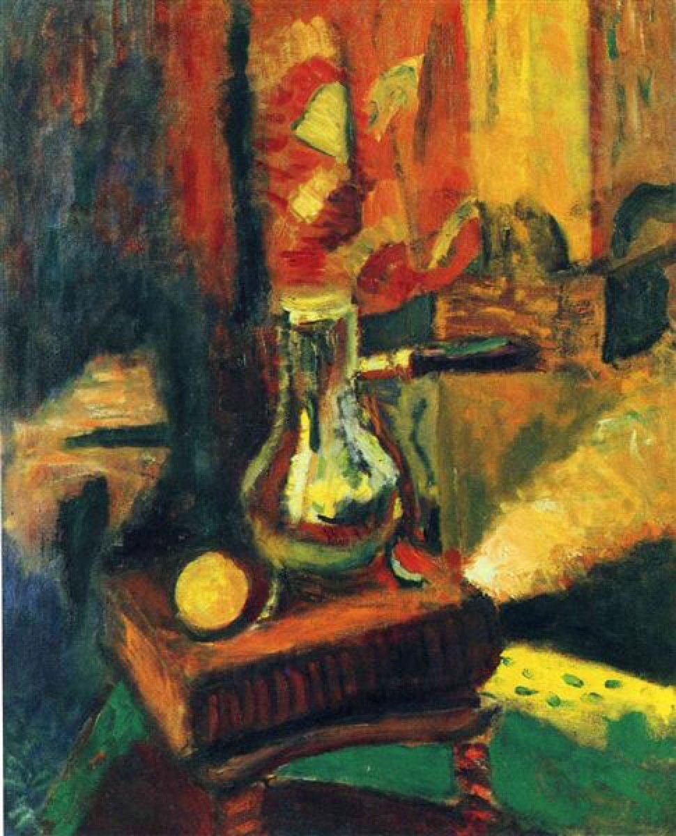 Henri Matisse, Still Life with Chocolate Pot, 1900.