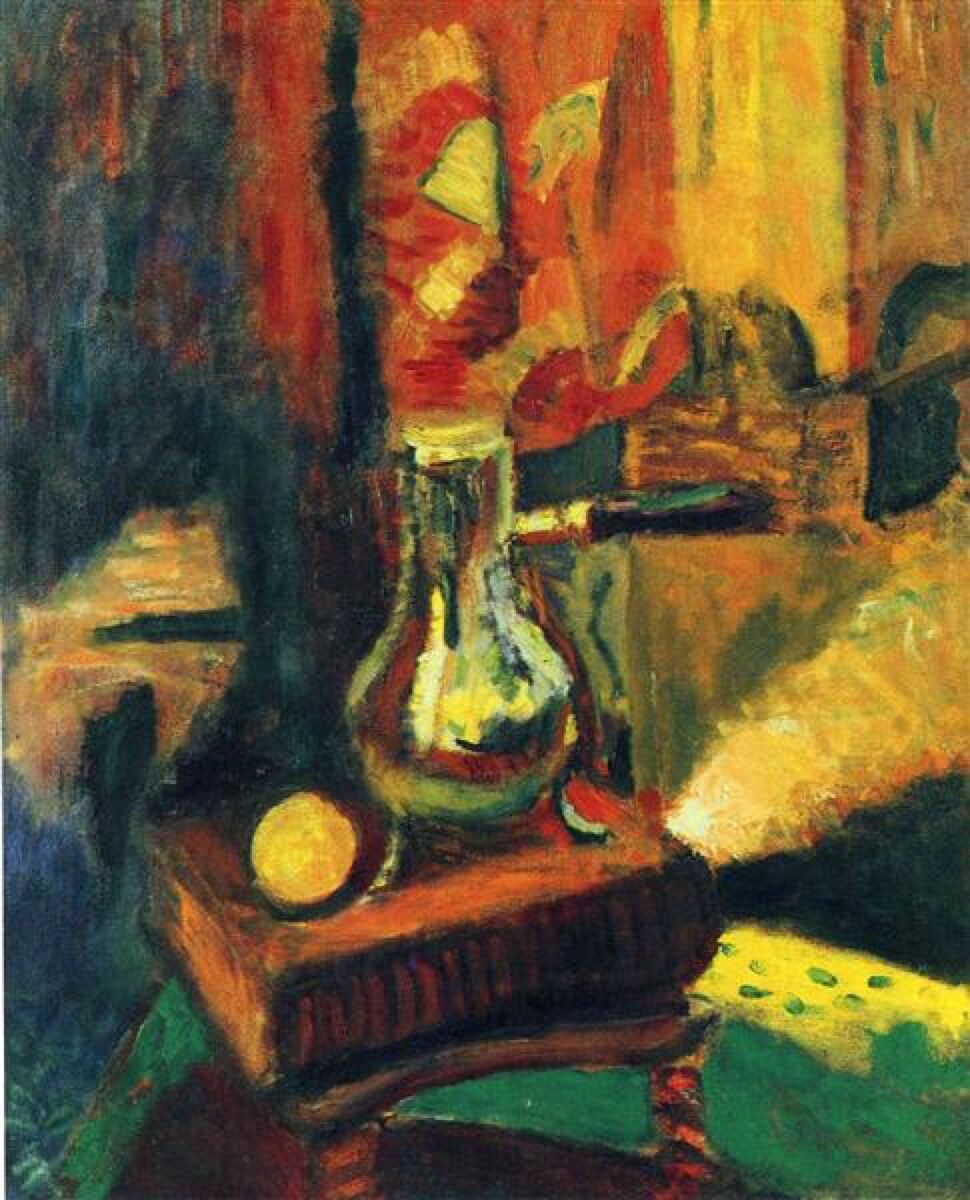 Henri Matisse, Still Life with Chocolate Pot, 1900.
