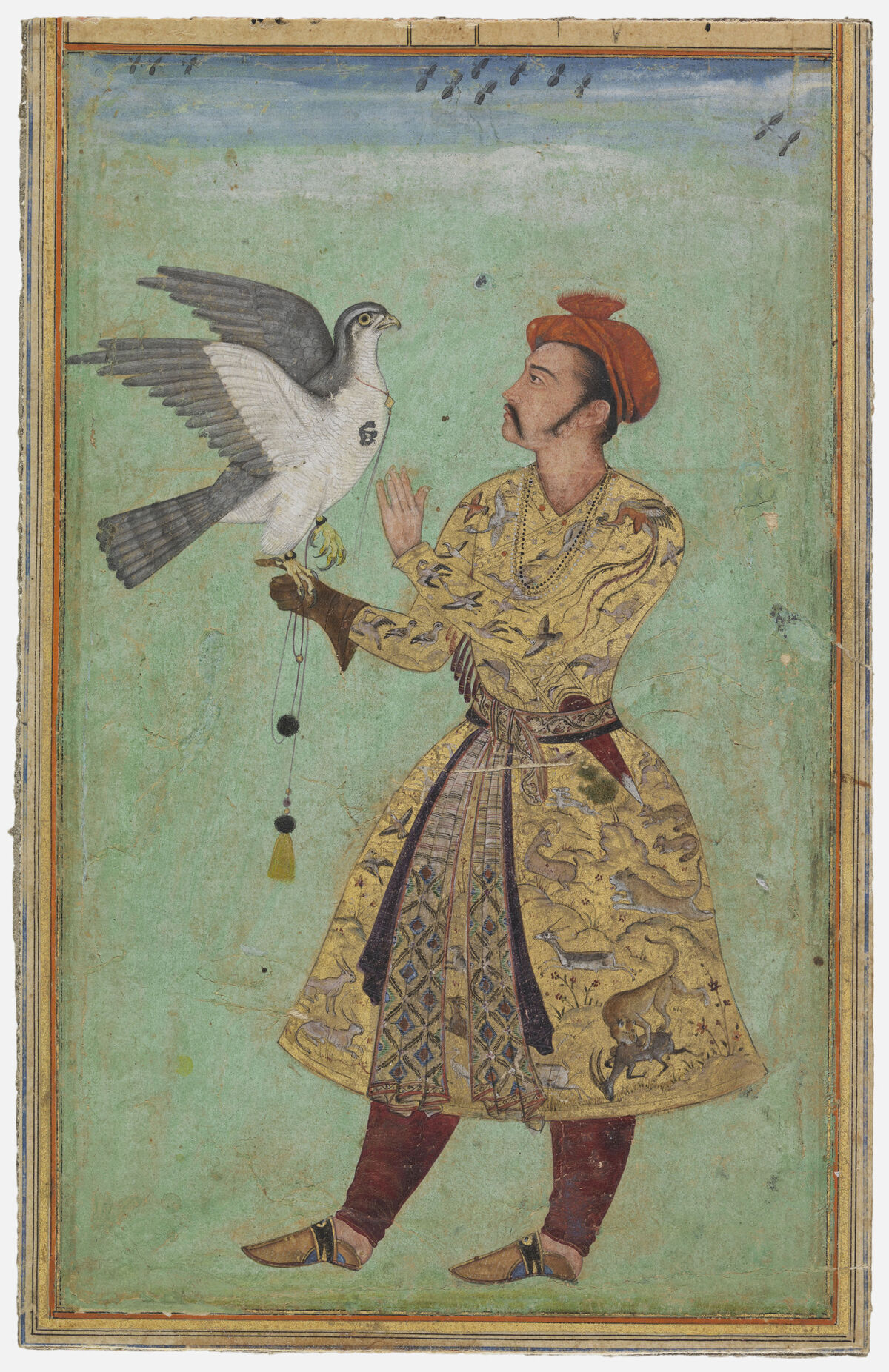 Unknown artist, Prince With a Falcon, 1600-1605. Courtesy of the Los Angeles County Museum of Art.