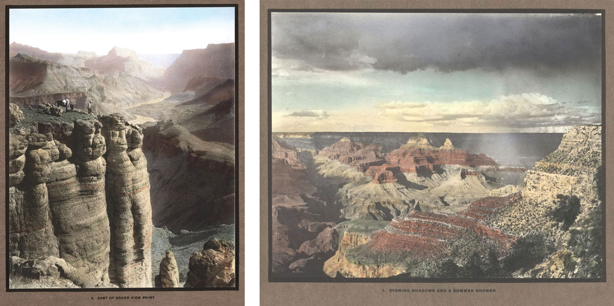 "Kolb Brothers, ""The Grand Canyon of Arizona,"" ca. 1912. Images courtesy of Special Collections, University of Wisconsin-Milwaukee."