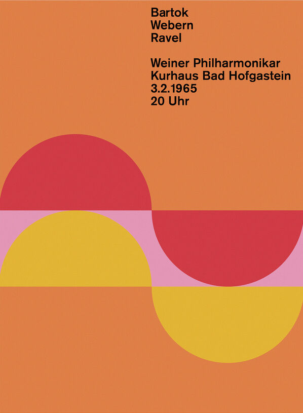 Poster designed by Margarete Kögler in the class of Otl Aicher. Image via Wikimedia Commons.