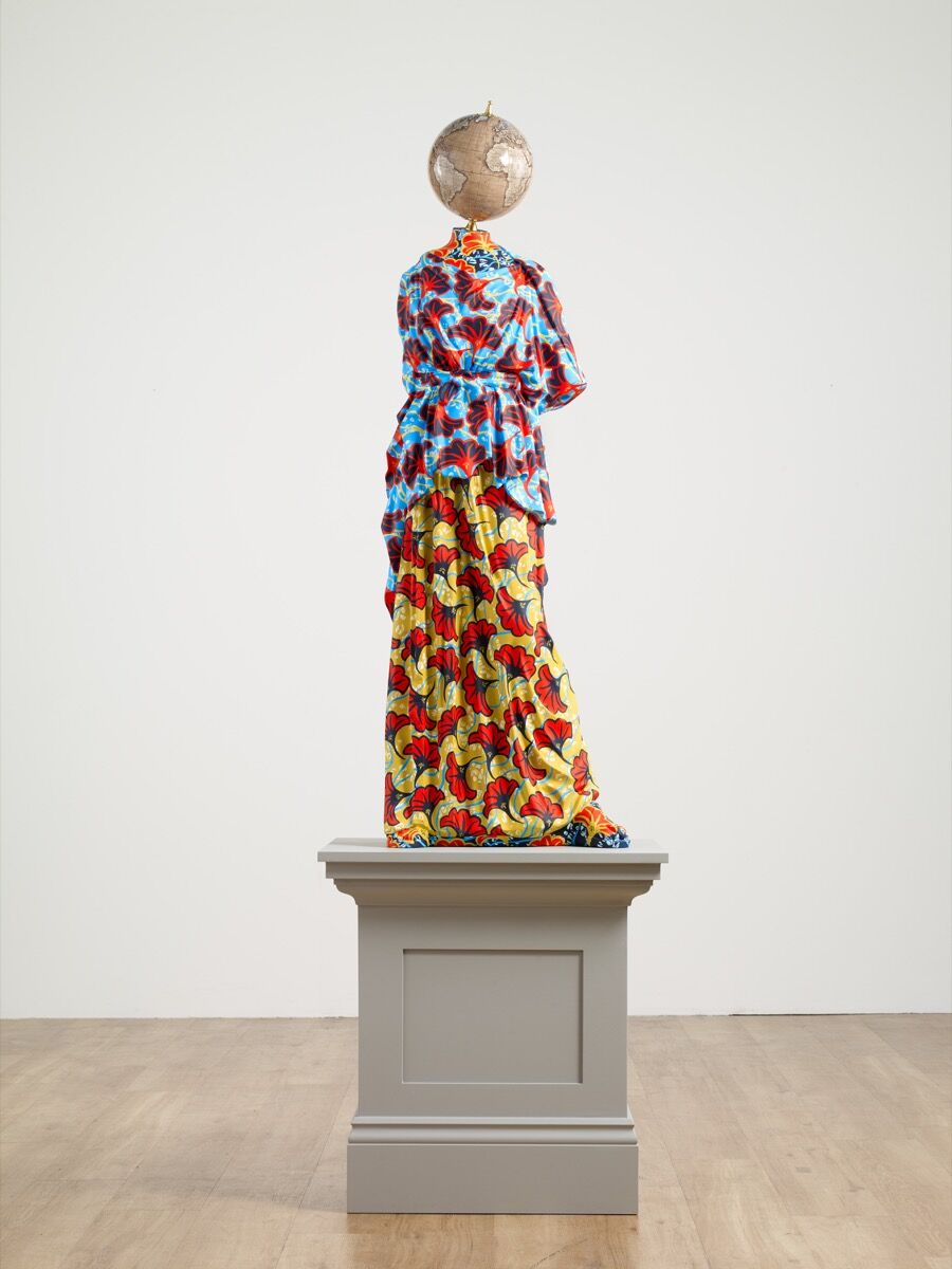 Yinka Shonibare CBE, Athena II , 2019. Courtesy of Goodman Gallery.