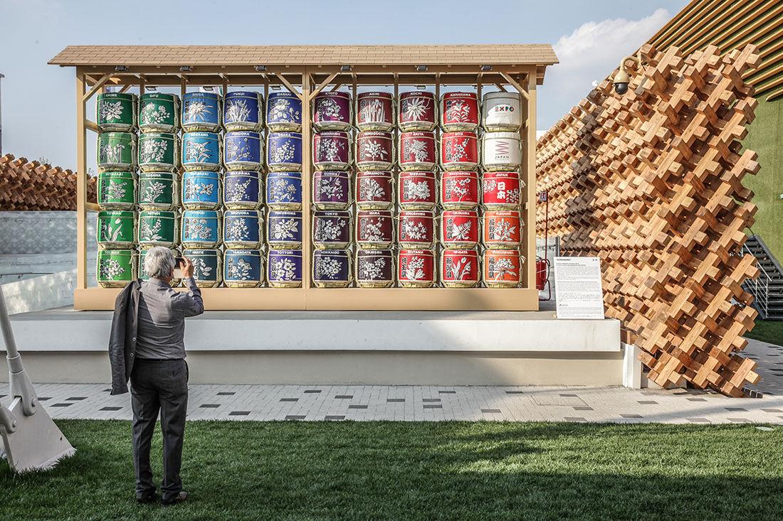 Japanese Pavilion.Photo Pietro Baroni / Expo 2015.