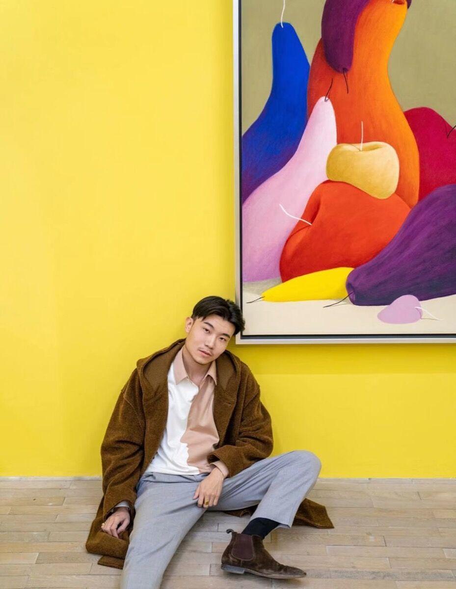 Portrait of Michael Xufu Huang. Courtesy Michael Xufu Huang.