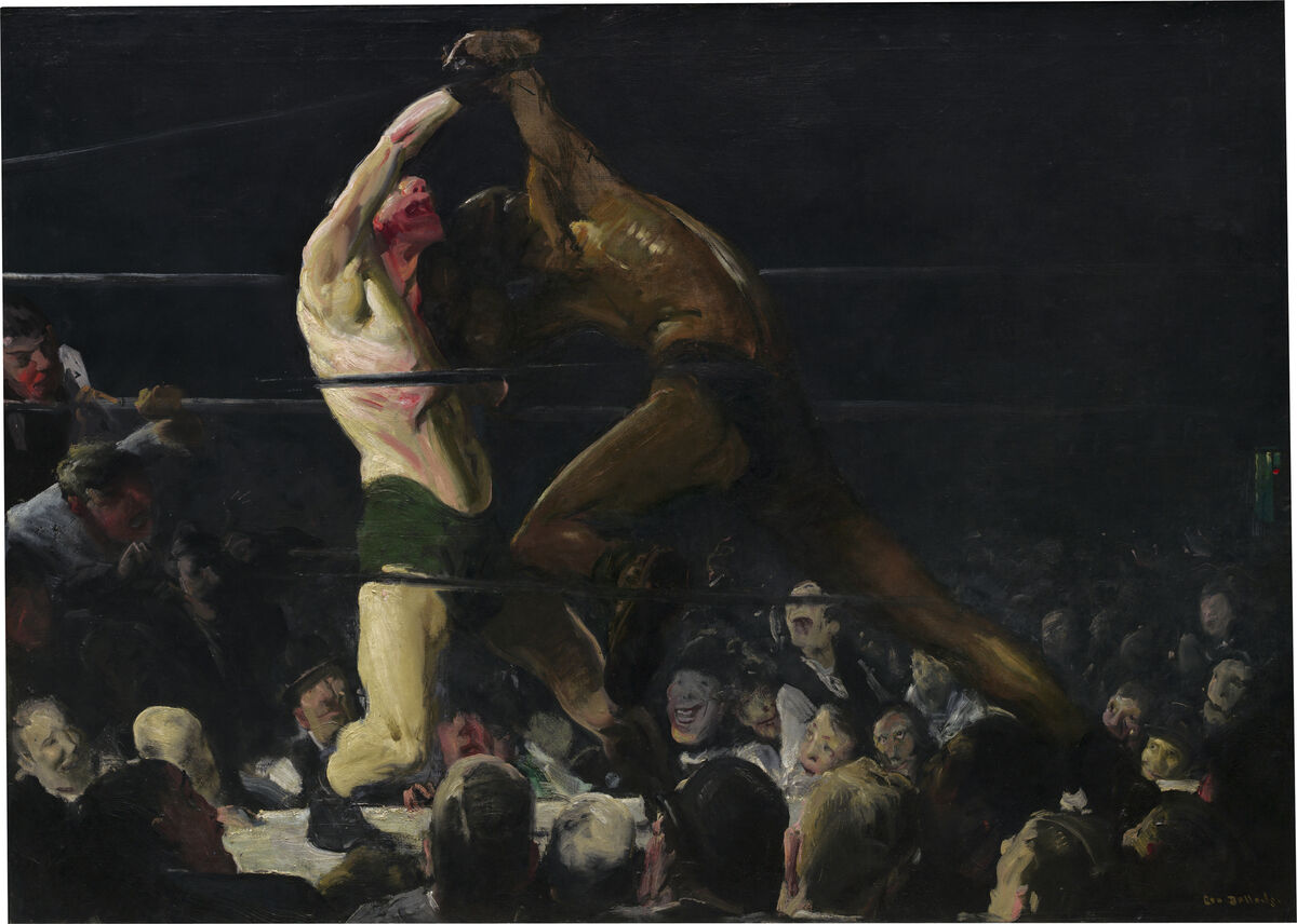George Bellows, Both Members of This Club, 1909. Courtesy of the National Gallery of Art.