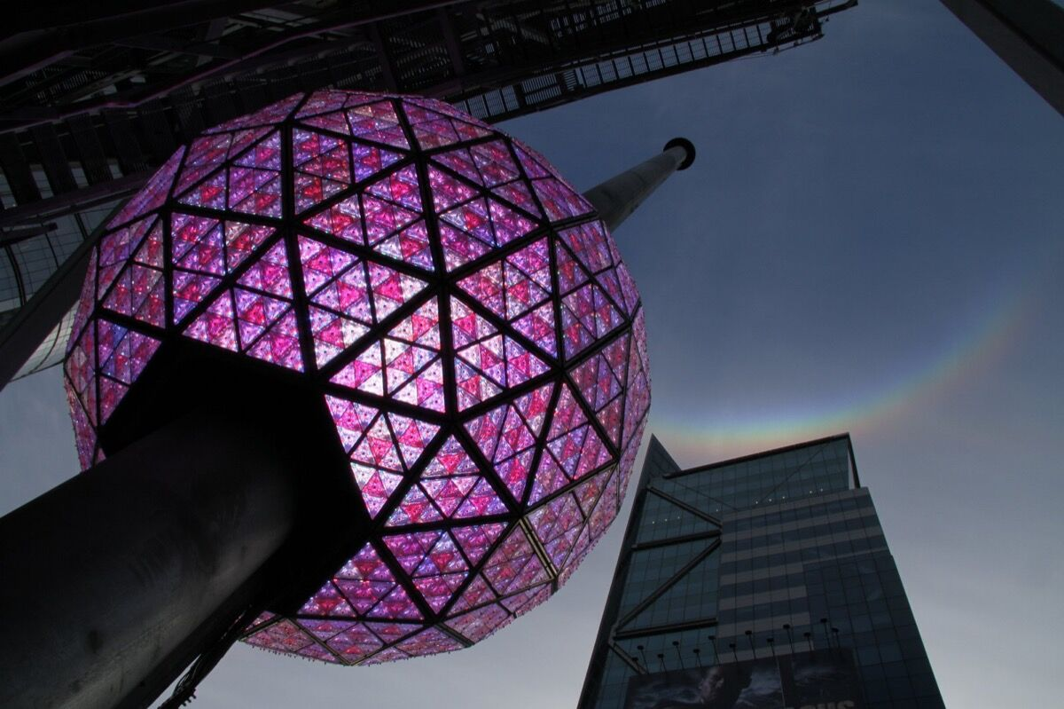 Waterford Crystal Times Square New Year's Eve Ball. Photo by Ian Hardy/iMedia Networks for Countdown Entertainment.