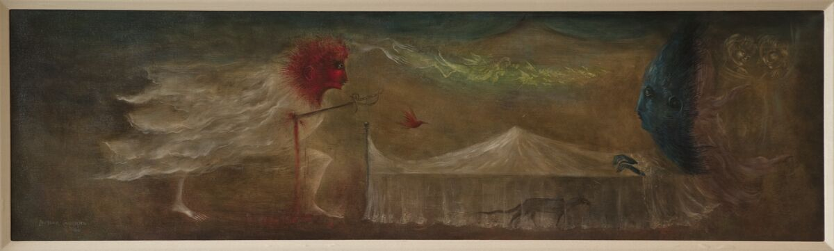 Leonora Carrington, Coeur d'amour epris, 1960. Courtesy of the artist and Catherine Petitgas.