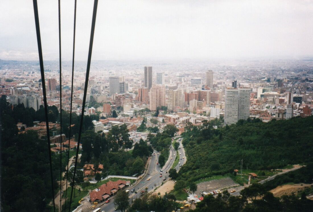 Bogota, 1997. Photo by David Holt via Flickr.