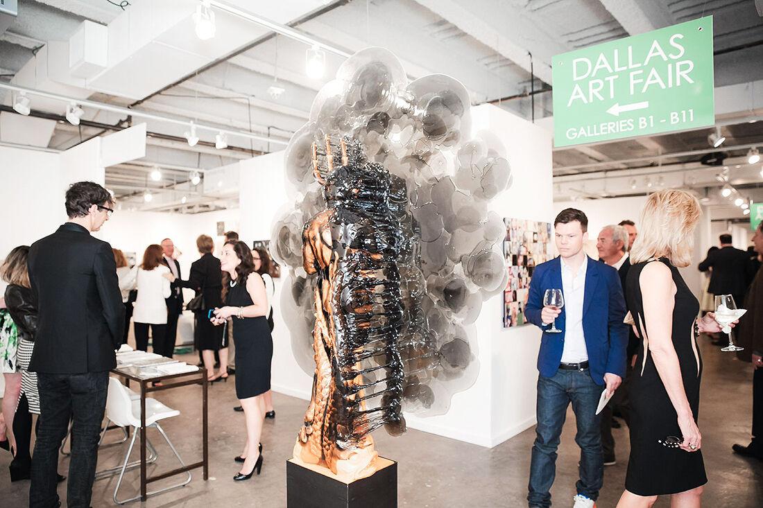 Dallas Art Fair 2015. Photo: BFA,Courtesy Dallas Art Fair.