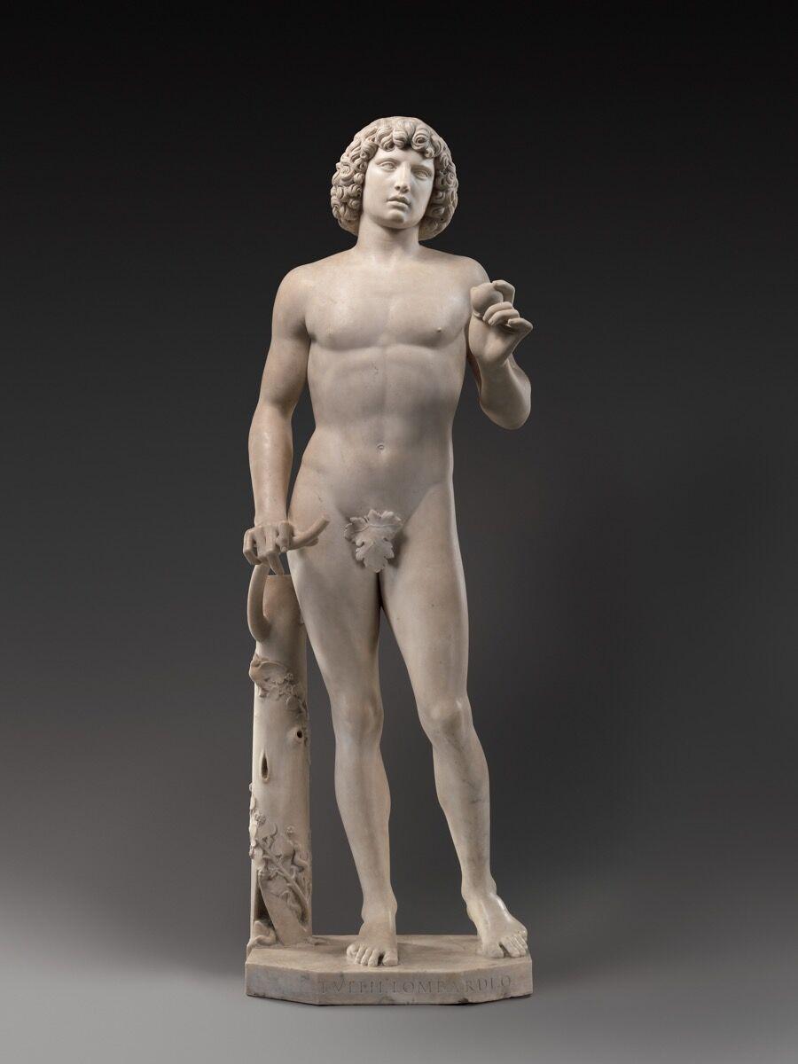 Tullio Lombardo, Adam, ca. 1490–95. Courtesy of the Metropolitan Museum of Art.