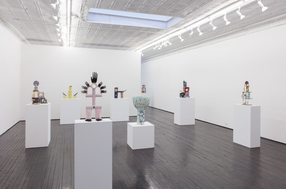 Installation view courtesy of Nicelle Beauchene Gallery.