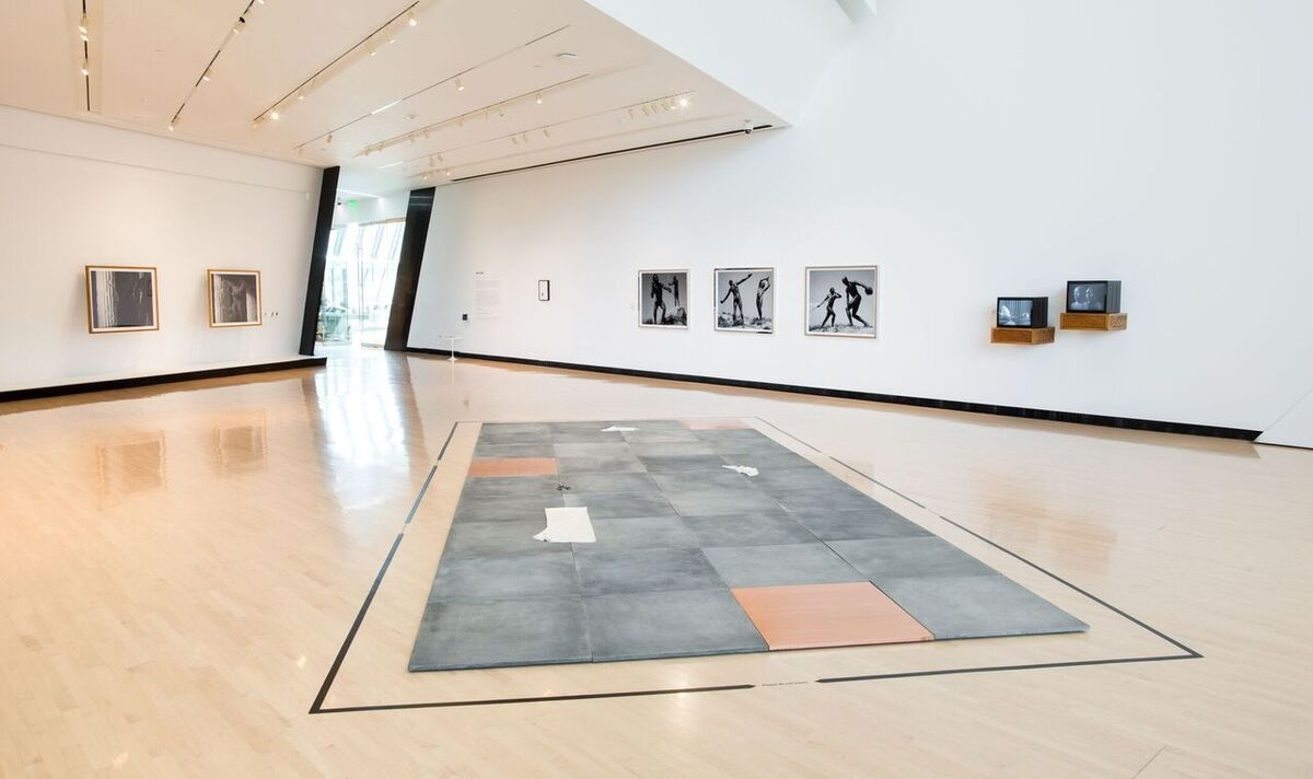 """Installation view of """"Yan Xing"""" at the Eli and Edythe Broad Art Museum at Michigan State University, 2016. Photo: Eat Pomegranate Photography, courtesy of Eli and Edythe Broad Art Museum at Michigan State University."""