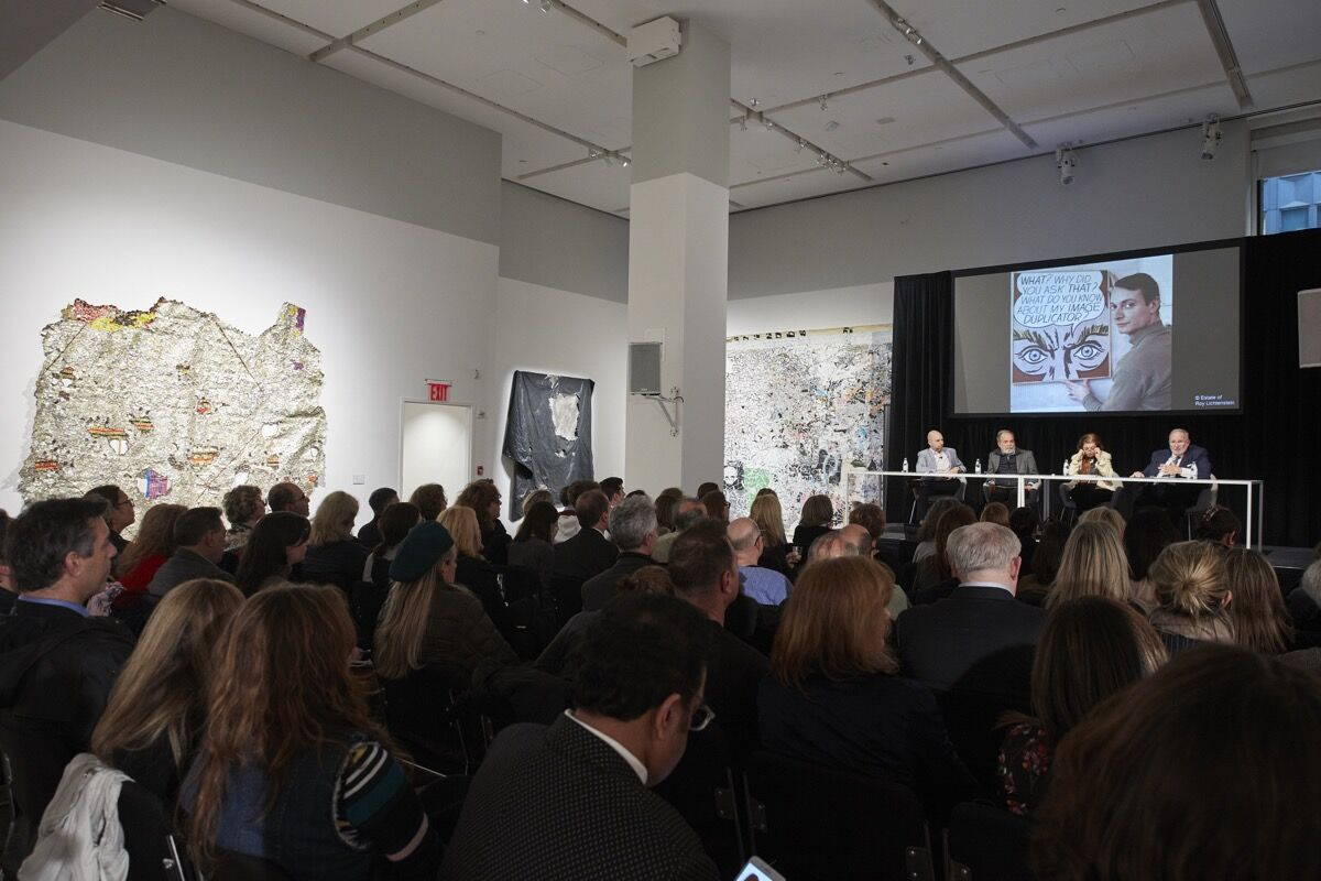 Art Matters panel discussion at Phillips, 2019. Courtesy of Phillips.