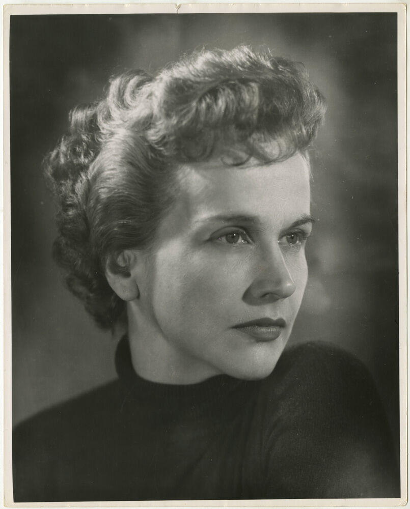 Editta Sherman, Kim Hunter, 1955. Courtesy of the New York Historical Society Museum & Library.