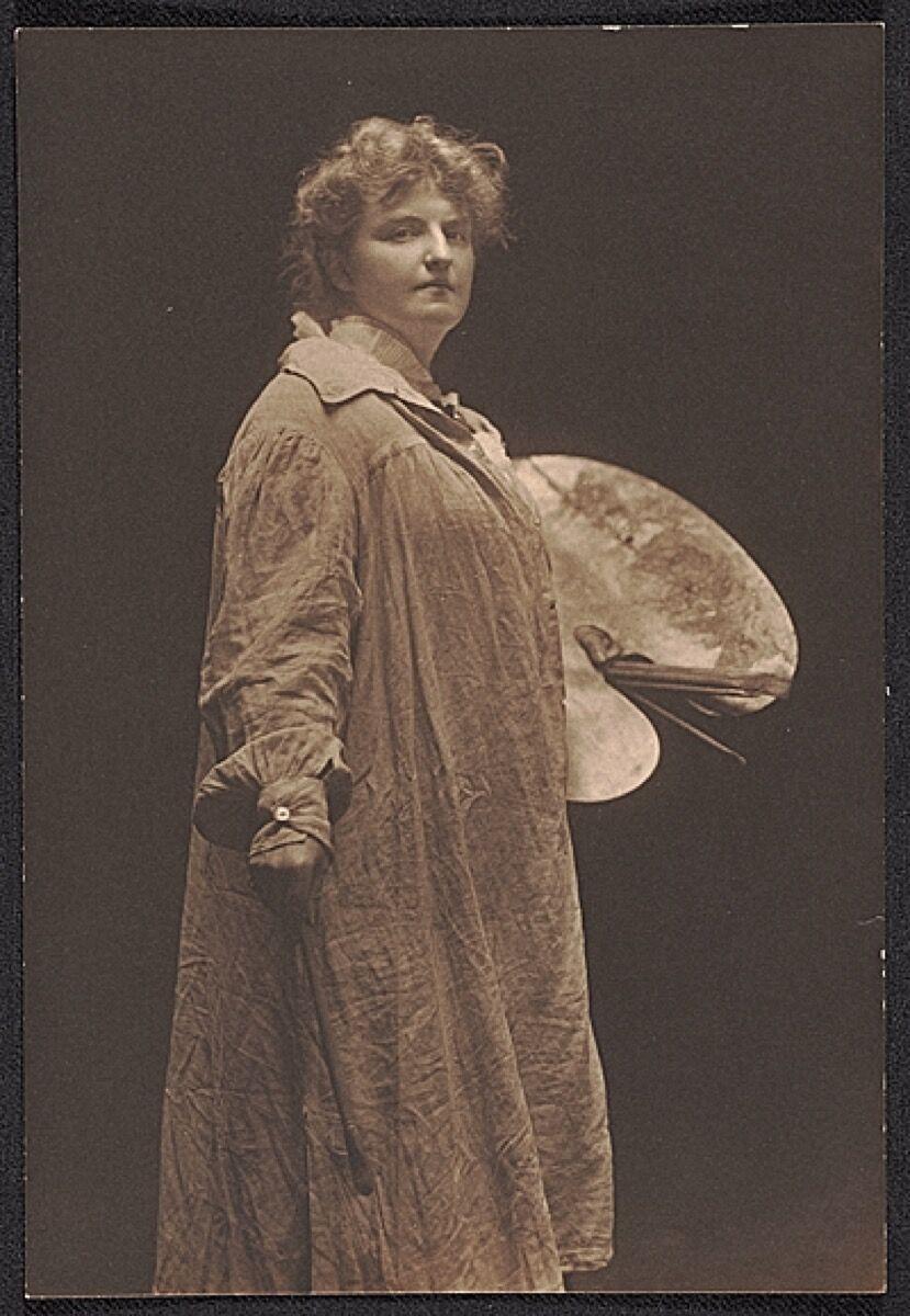 Katherine Sophie Dreier, c.  1910. Imagen vía Wikimedia Commons.