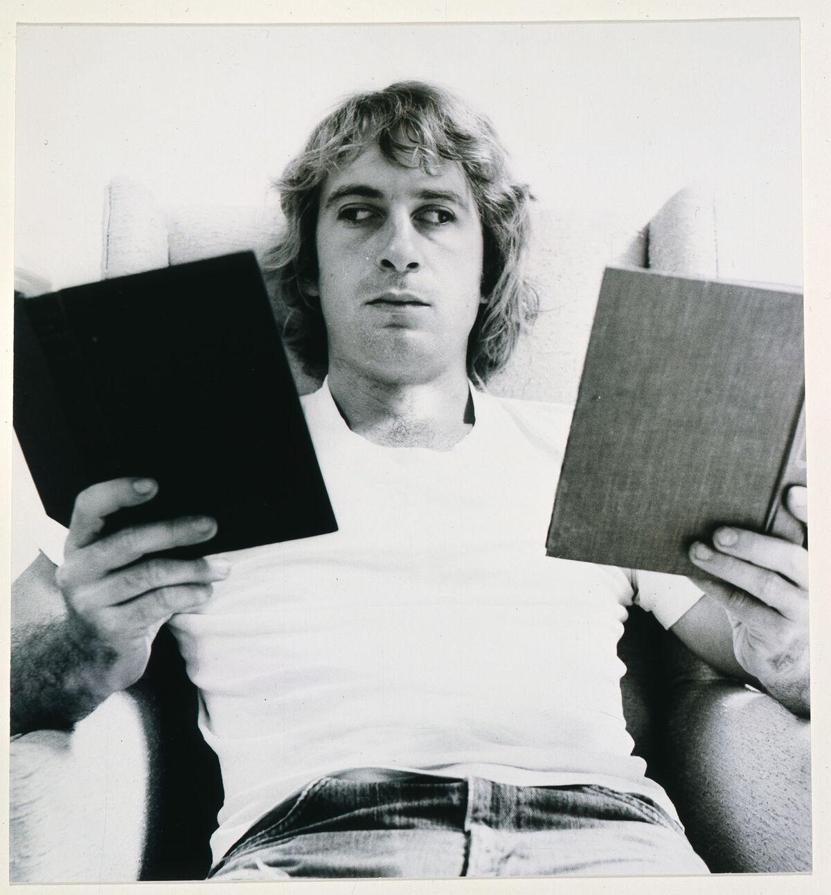 Portrait of William Wegman. Courtesy of the artist.