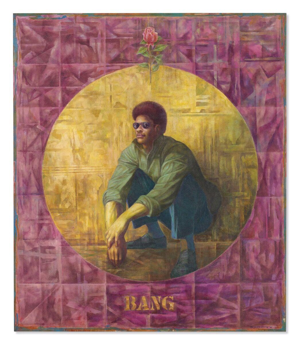 Charles White, Banner for Willie J, 1976. Courtesy of Christie's.