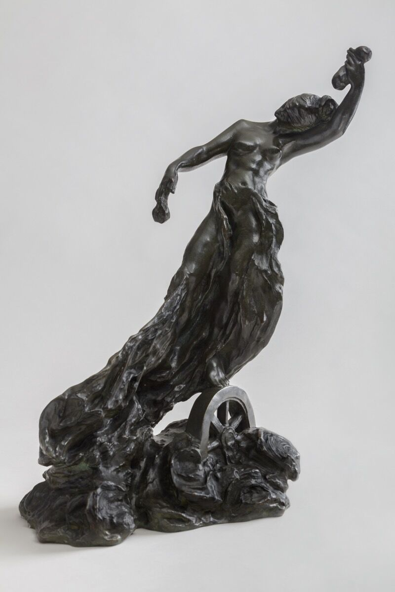 Camille Claudel, La Fortune, 1902-1905. Achat à Reine-Marie Paris de La Chapelle, 2008 © musée Camille Claudel. Photo by Marco Illuminati, courtesy of Musée Camille Claudel.