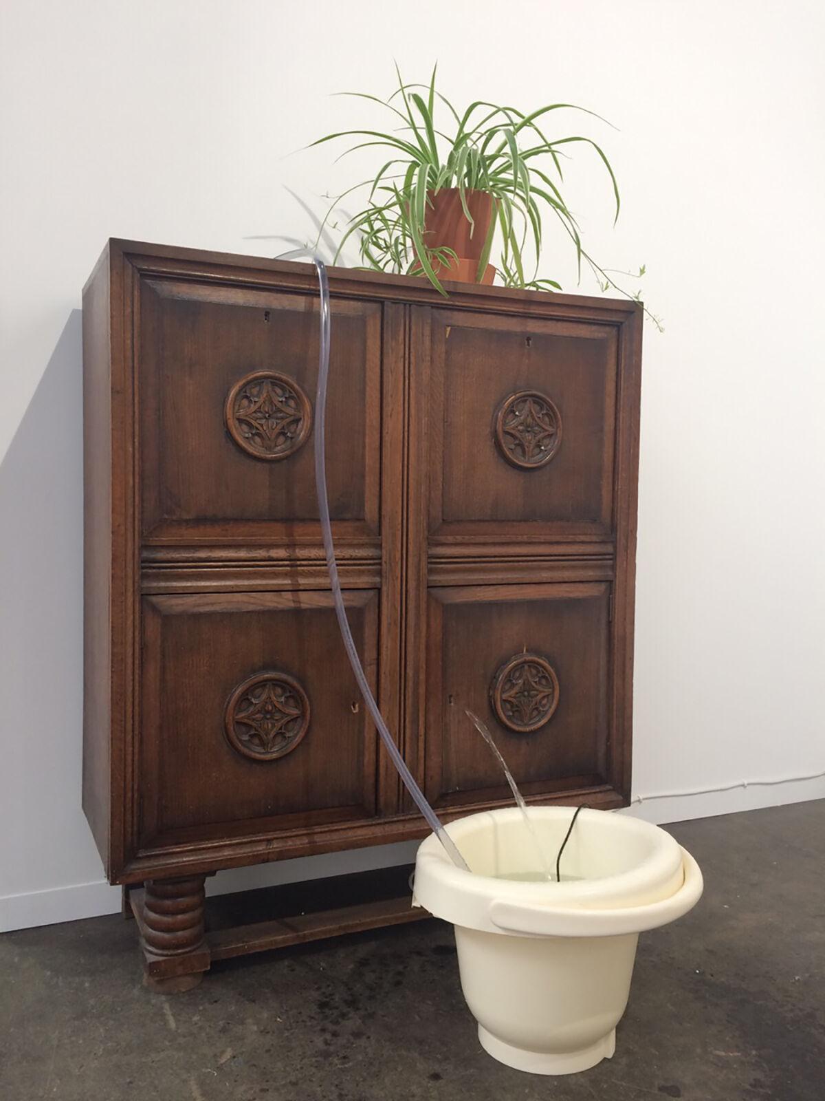 Leander Schönweger, The Inner Human III, 2017. Courtesy of Galerie Nathalie Halgand.