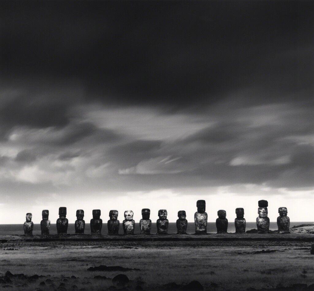 Moai, Study 50, Ahu Tongariki, Easter Island