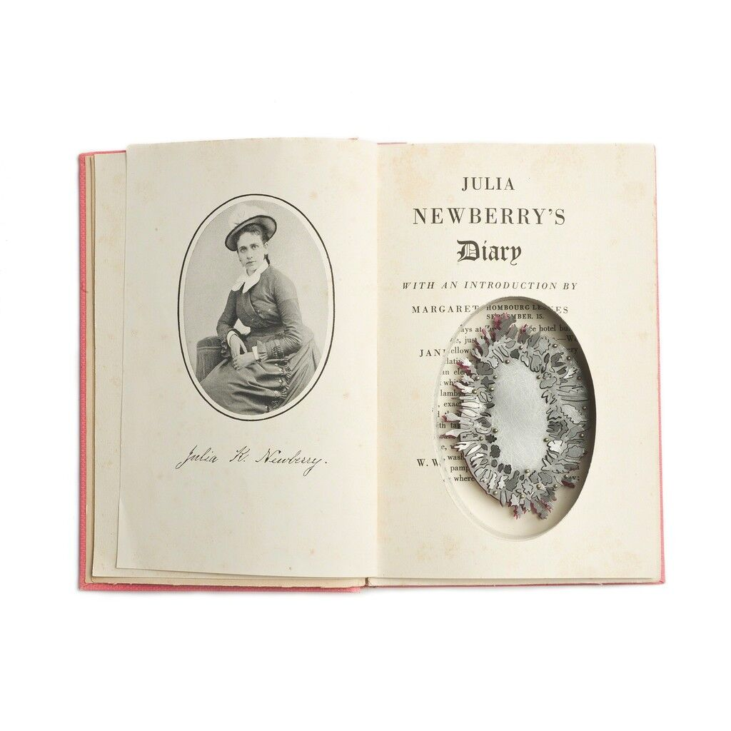 Found Subjects: Julia Newberry's Diary, Brooch
