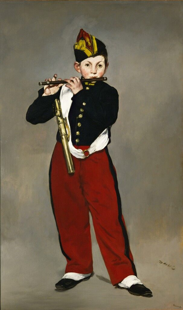 The Young Flautist