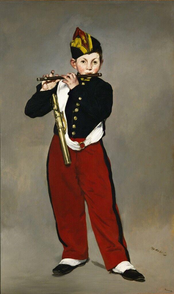 El joven flautista