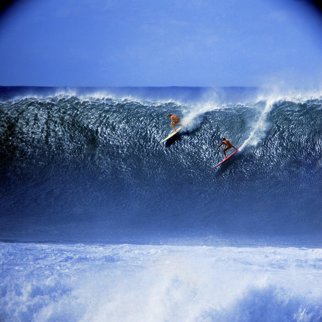 Rusty Miller and Tiger Espere, Waimea Bay (No. 101)