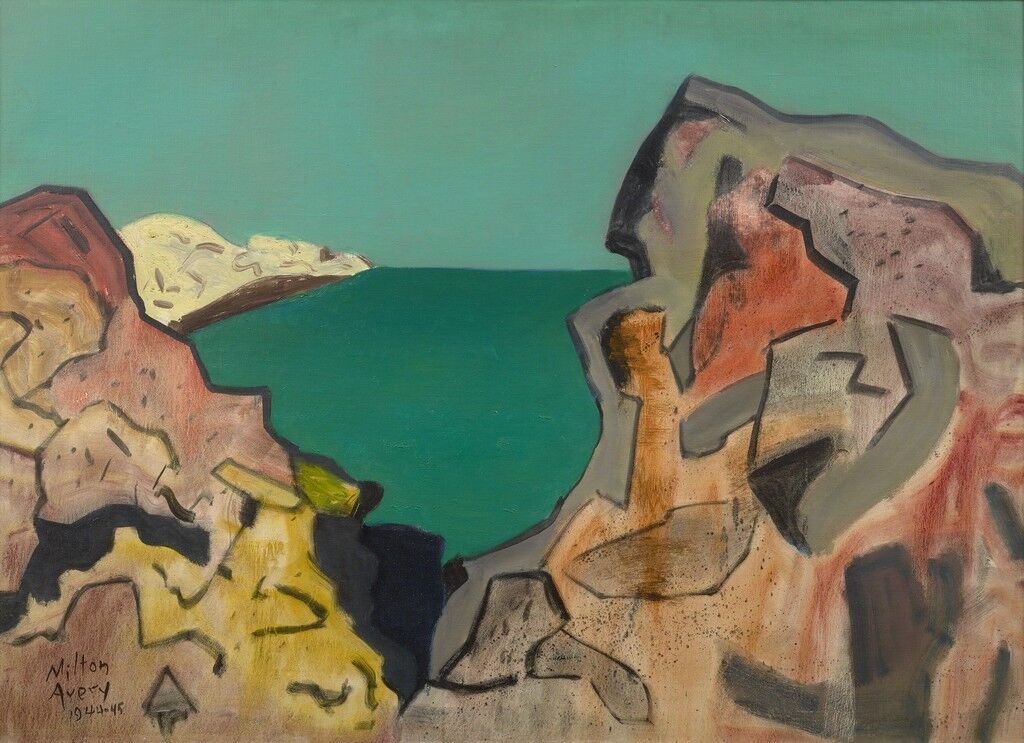 fff13fadf How Milton Avery Became an Icon of American Painting - Artsy