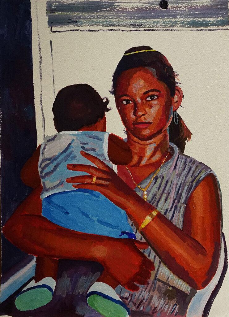 Madre y Hijo
