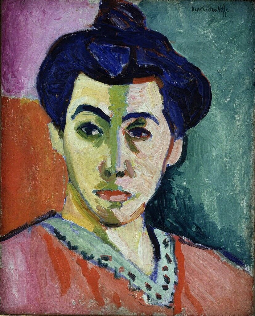 Portrait of Madame Matisse. The Green Line