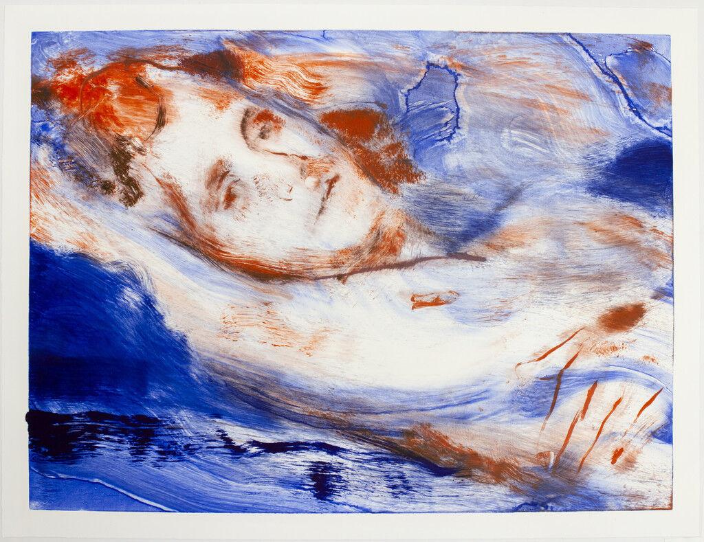 Resting (Self-Portrait) II